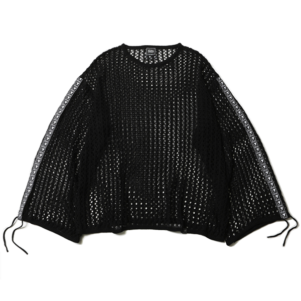 OBSCURE -Mesh Knit Sweater-